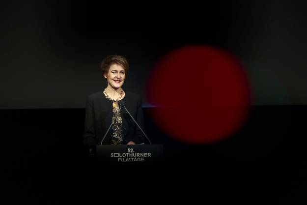 Solothurner Filmtage 2017: Bundesrätin Simonetta Somaruga