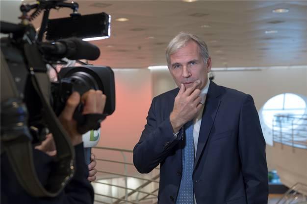 Lorenz Nägelin hat das SVP-Präsidium abgegeben und die Partei dazu noch verlassen.