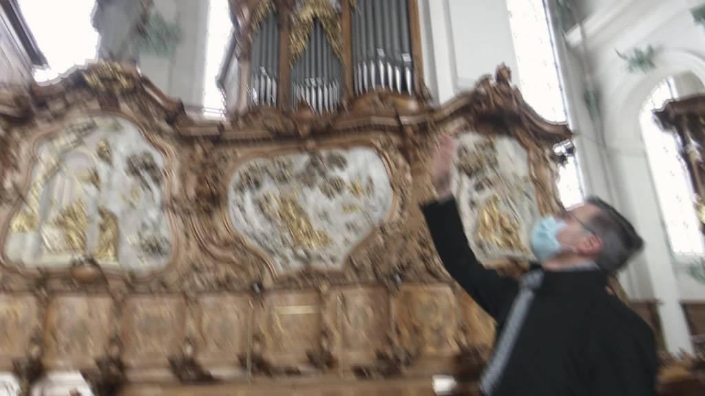 Mit Mondholz: Dachstuhl-Sanierung in Kathedrale St.Gallen
