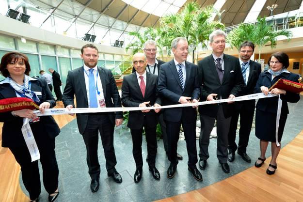 Die neue Lounge wurde am 15. März 2013 eingeweiht.