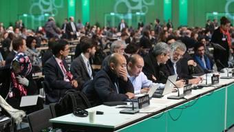 Treffen an der Klimakonferenz in Warschau (Archiv)