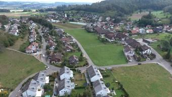 Das Dorf aus der Luft: Ein Flug mit der Videodrohne über Ammerswil.