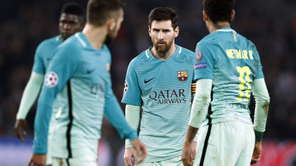 Lionel Messi und seine Mitspieler sind heute gefordert
