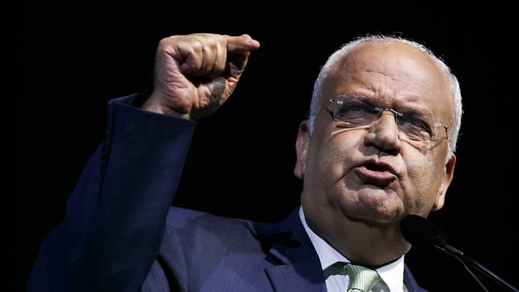 PLO-Generalsekretär nach Corona-Erkrankung gestorben