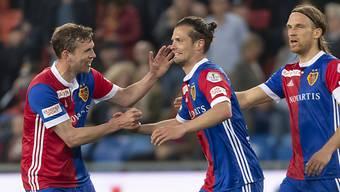 Valentin Stocker beweist, wie gern er gegen den FCZ trifft.