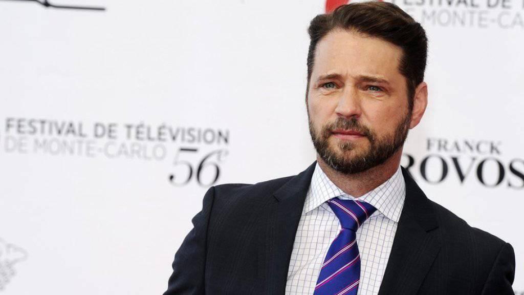 """Bezeichnet seine ehemalige """"Beverly Hills""""-Kollegin Shannon Doherty als """"unglaublich mutig"""": Jason Priestley. (Archivbild)"""