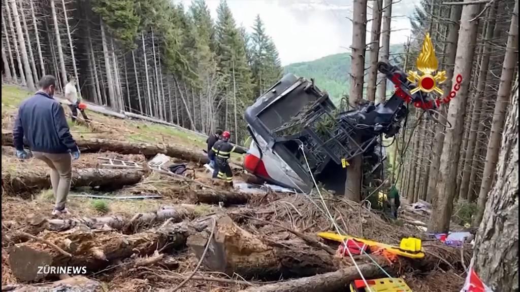 14 Tote bei Seilbahnabsturz: Schweizer Gondelpassagiere haben mulmiges Gefühl