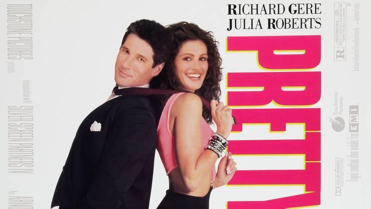 Geschäftsmann liebt Prostituierte. Zunächst war kein Happy End vorgesehen, doch die Chemie zwischen Richard Gere und Julia Roberts war zu gut.
