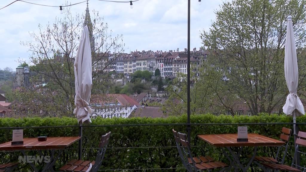 Schlechtes Wetter und Terrassen: Das sind die Schlecht-Wetter-Taktiken der Berner Beizen