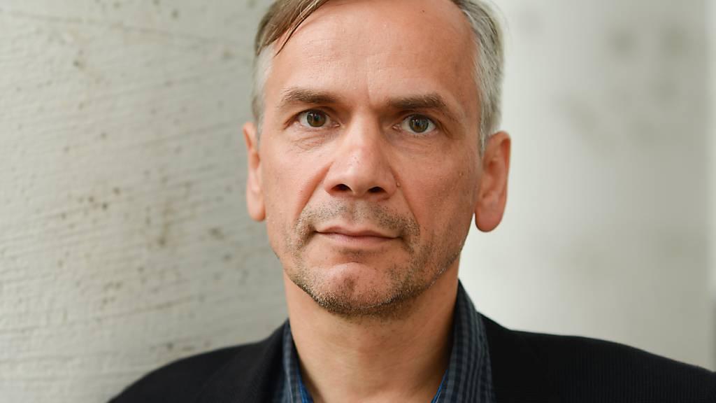 Der Preis der Leipziger Buchmesse in der Belletristik-Sparte geht an Lutz Seiler. (ARchivbild)