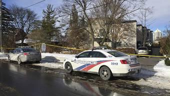Verdächtige Todesfälle: In diesem Haus im Norden von Toronto wurden der Pharma-Milliardär Barry Sherman und seine Frau erhängt aufgefunden. (Archivbild)