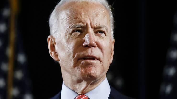 Wie erwartet hat Joe Biden auch die Präsidentschaftsvorwahl der US-Demokraten in Wisconsin gewonnen. (Archiv)