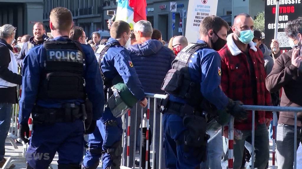 100 statt 15 Personen-Demo: Für das Berner Bündnis ist das ein Demo-Verbot