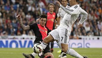 Real-Star Ronaldo blieb für einmal ohne Torerfolg