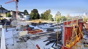 In Lausanne entsteht das neue Krebszentrum Agora. Es soll 2018 den Betrieb aufnehmen.
