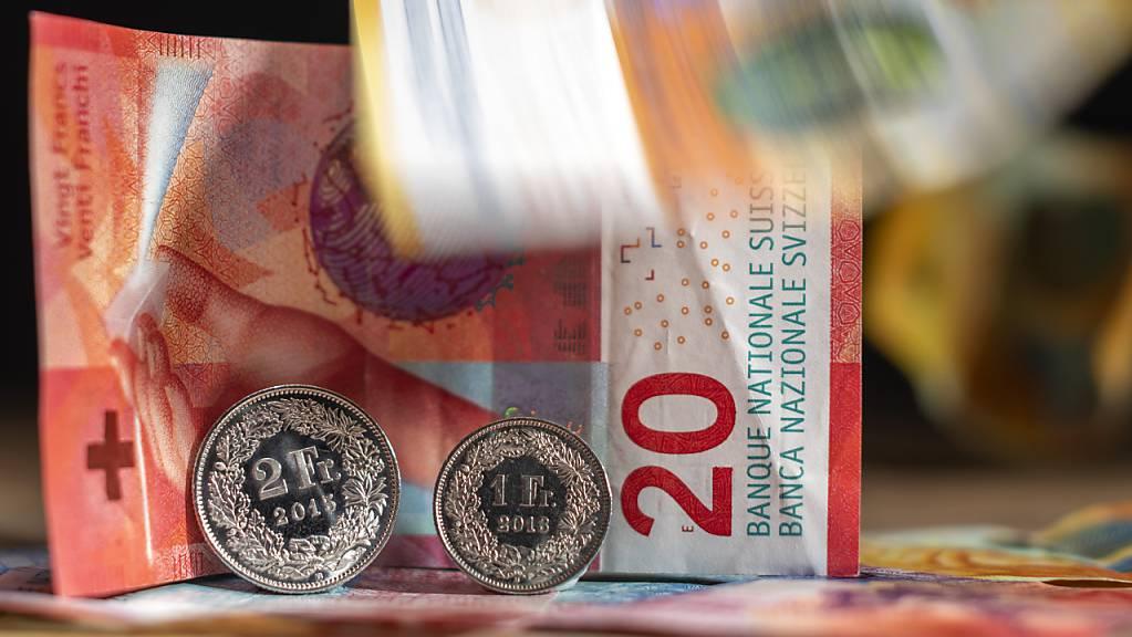 Die Schweizer Währung verliert derzeit an Wert. (Symbolbild)
