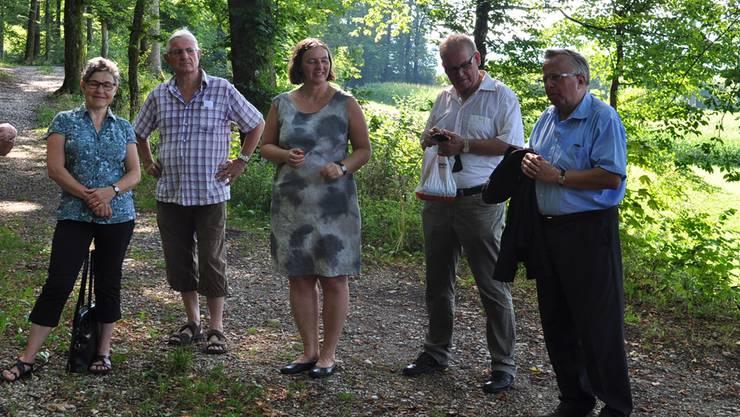10 Jahre Kirchliche Fachstelle Jugend: Ein Spaziergang mit Mitgliedern der Gründungsgruppe und ehemaligen Mitarbeitern.