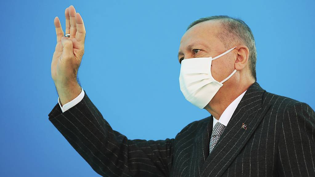 Fordert die Aufnahme von Gesprächen über eine Zwei-Staaten-Lösung für Zypern: Der türkische Präsident Recep Tayyip Erdogan.