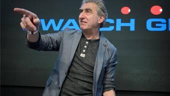 Swatch: Nick Hayek stellt seine neue Uhr vor