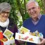 Das Co-Präsidium mit Therese Dietiker und Roland Frauchiger dankten den Sonntagsdienstlern mit einem Znünikorb.