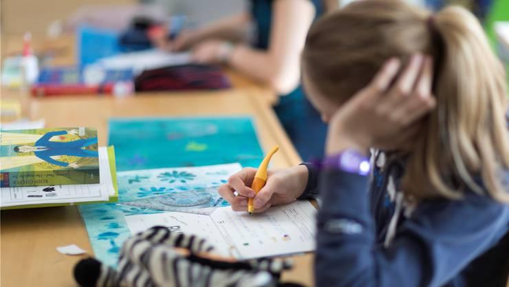 Lehrpersonen sollen künftig selber entscheiden können, welches Lehrmittel sie aus einer Liste auswählen und für den Unterricht verwenden wollen. (Symbolbild)