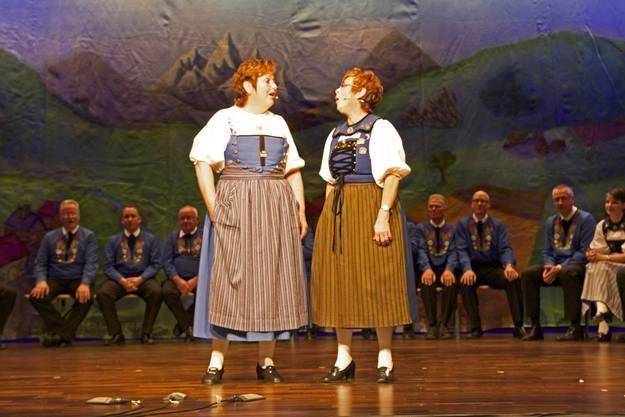 Esther Ehrler und Doris Brändli im Duett.