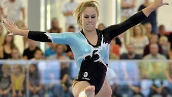 Giulia Steingruber bei den Schweizer Meisterschaften in Widen
