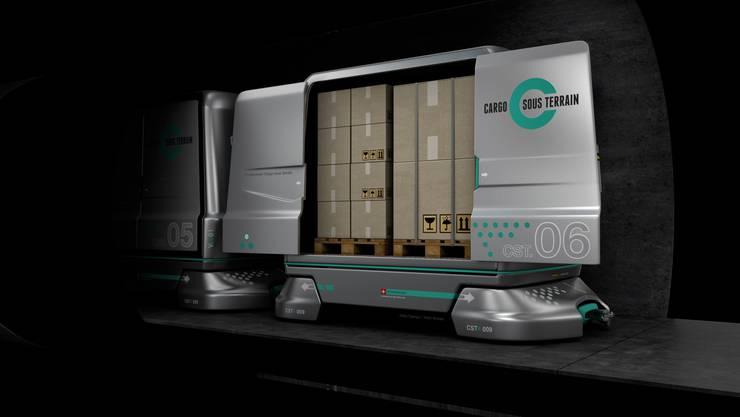 Warentransport im 24-Stunden-Betrieb möglich.