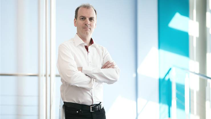 Der Fricktaler Unternehmer Roland Brack referiert am Rheinfelder Wirtschaftsforum.