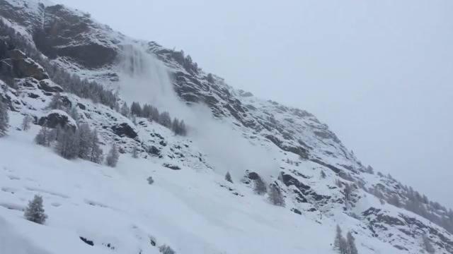 Wegen Lawinengefahr: Teile Zermatts evakuiert