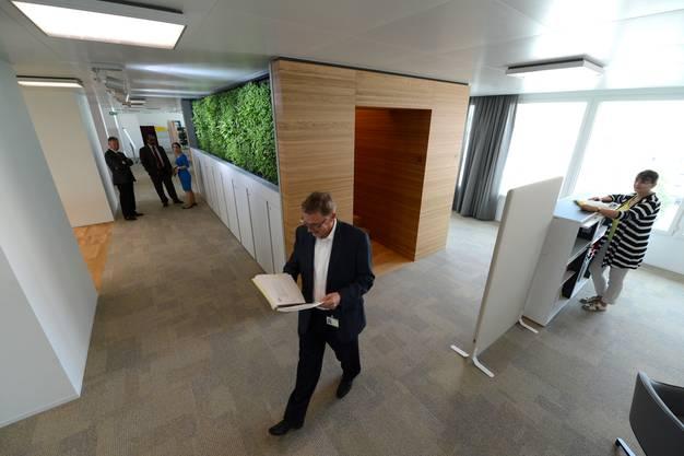 Dies ist das neue Zuhause vom Agrochemiekonzern Syngenta in Basel.