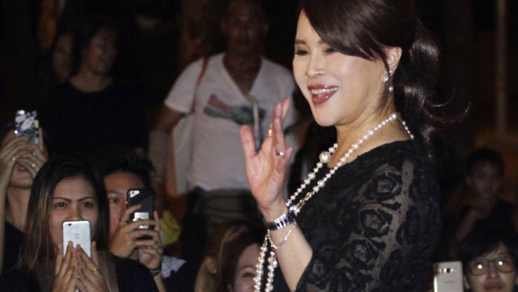 Die Schwester des thailändischen Königs, Prinzessin Ubolratana, kandidiert für das Amt der Premierministerin. (Archiv)