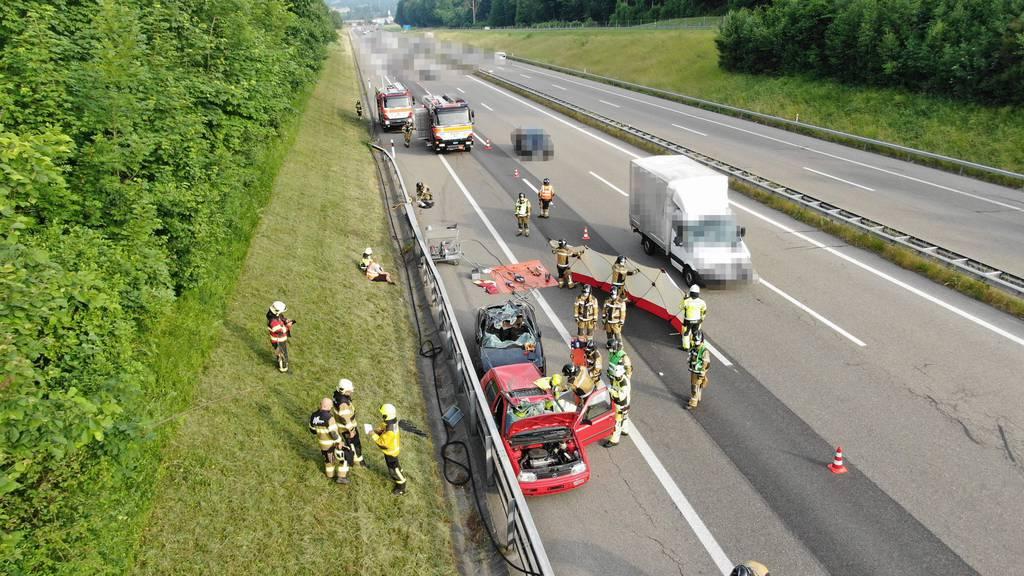 Feuerwehrübung während Fahrt gefilmt – drei «Gaffer» angezeigt