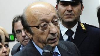 Luciano Moggi muss hinter Gitter