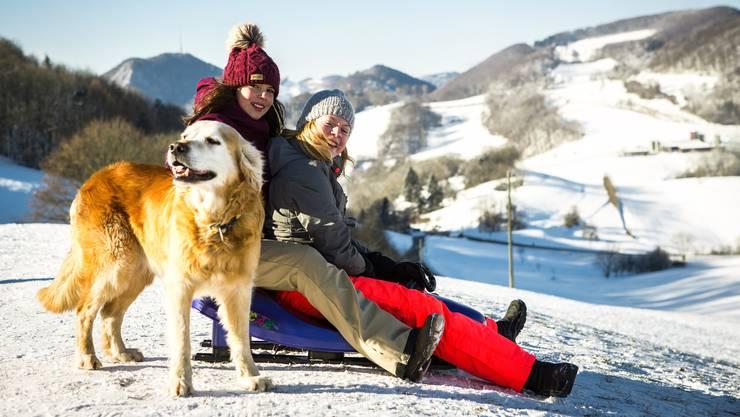 Schneespass Dreikönigstag auf der Staffelegg – Impressionen von az-Fotograf Chris Iseli