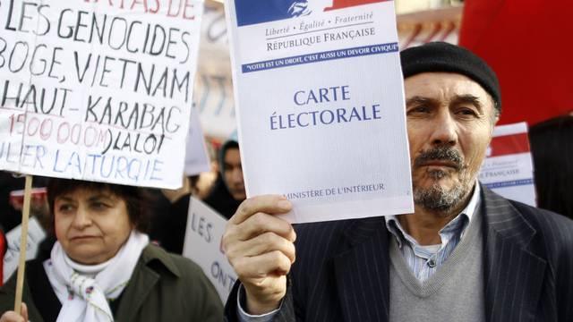 Türken demonstrierten in Paris gegen das Gesetz (Archiv)