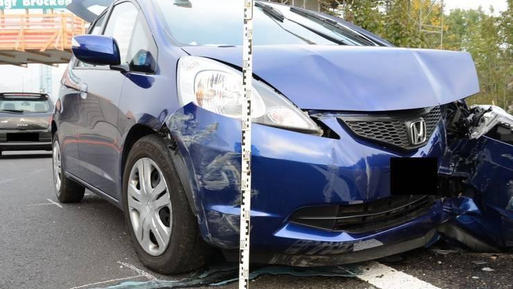Das Fahrzeug des 74-Jährigen erlitt Totalschaden