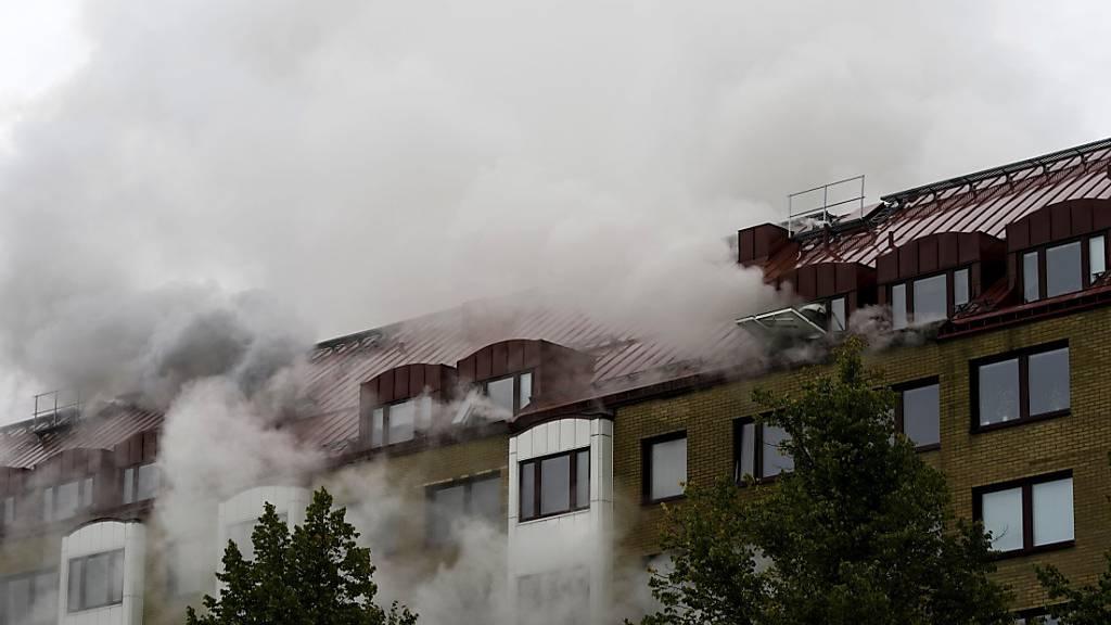Explosion und Brand in Göteborg – mehr als 20 Menschen im Krankenhaus