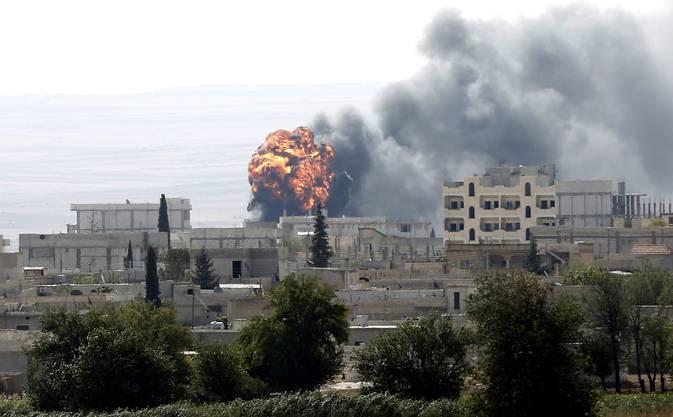 Heftige Kämpfe toben in verschiedenen Vierteln von Kobane.