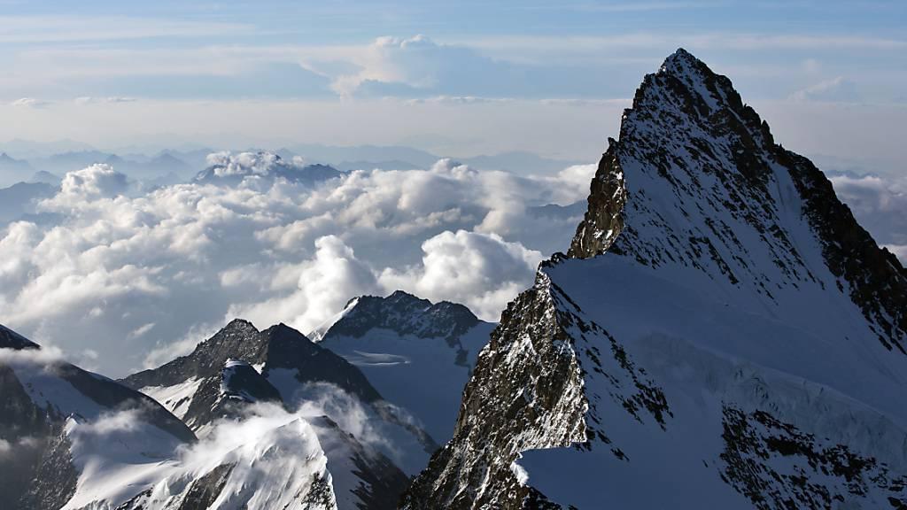 Zwei Bergsteiger kommen am Finsteraarhorn ums Leben
