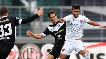 Ein Assist, ein Tor: Albian Ajeti zeigt gegen Lugano eine gute Leistung. Trotzdem reicht es dem FCB nur zu einem 2:2.