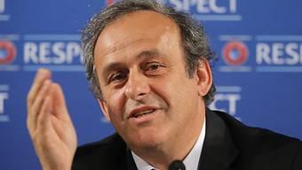 UEFA-Präsident Michel Platini kennt keine Gnade.