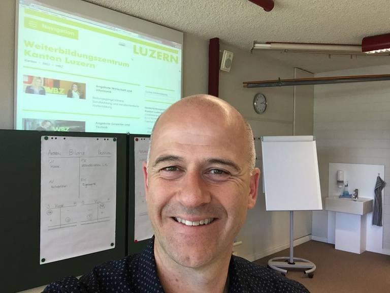 Patrick Stalder, Prorektor WBZ Luzern