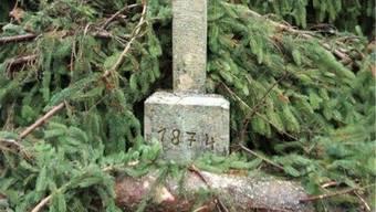 «Friederike» hat am Agathakreuz seine Spuren hinterlassen.
