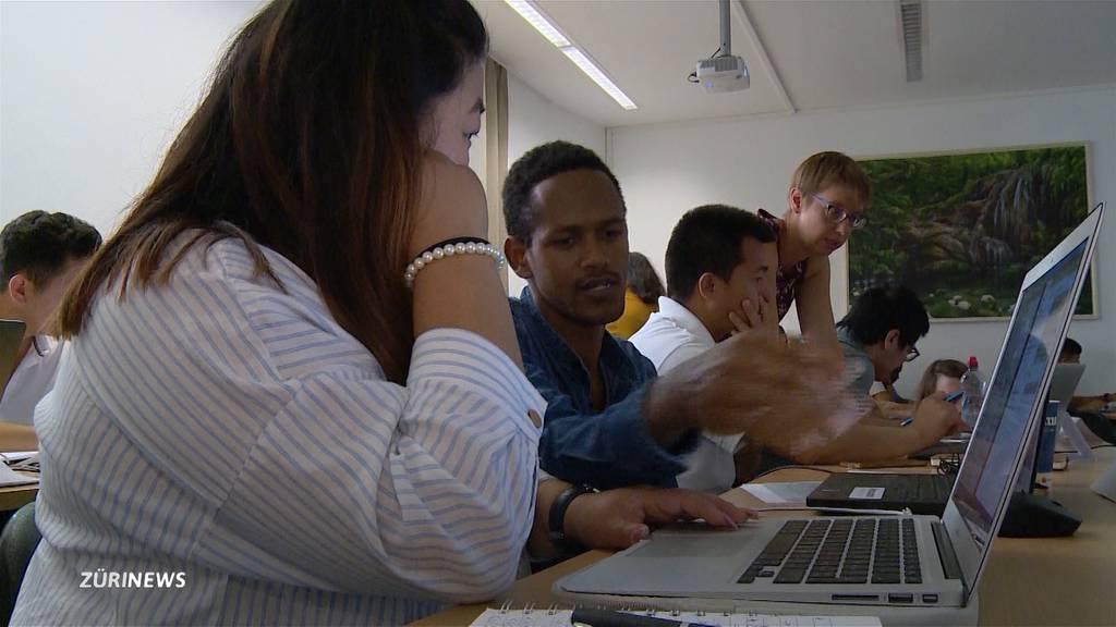So werden Flüchtlinge zu IT-Spezialisten