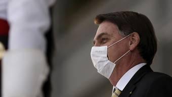 Nimmt Corona auf die leichte Schulter: Brasiliens Präsident Jair Bolsonaro. Derweil spitzt dich die Lage im Land immer mehr zu.