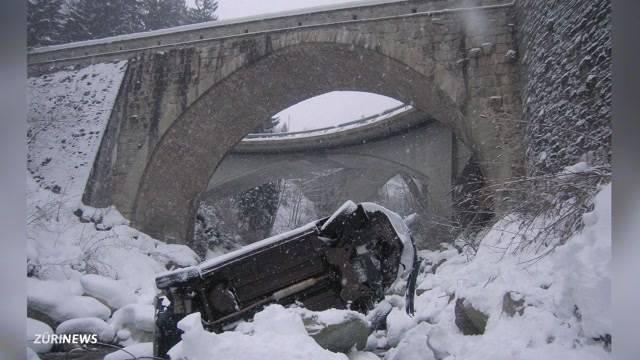 Verkehrsunfälle wegen Schnee und Glätte