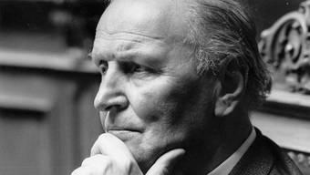 Willi Ritschard, geboren am 28. September 1918, Bundesrat von 1973 bis zu seinem Tod am 16. Oktober 1983.