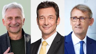 Gerhard Zickenheiner, Armin Schuster und Christoph Hoffmann (v.l).