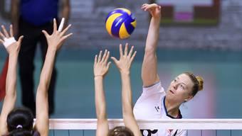 Maja Storck muss nach einer Verletzung am Fuss mehrere Wochen aussetzen.
